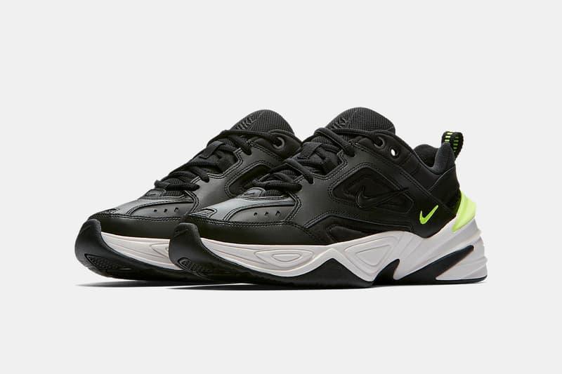 Nike M2K Tekno Raffle END Clothing Black Volt Phantom