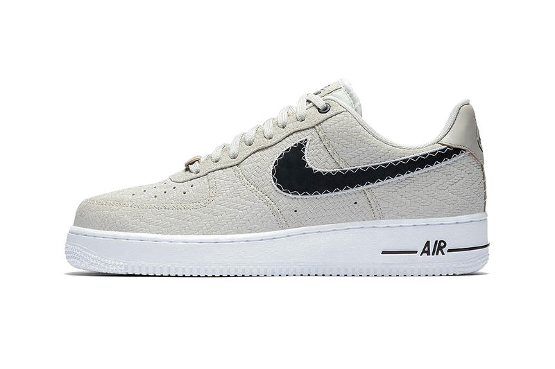 Nike N7 Air Force 1 Low Light Bone black sneakers footwear