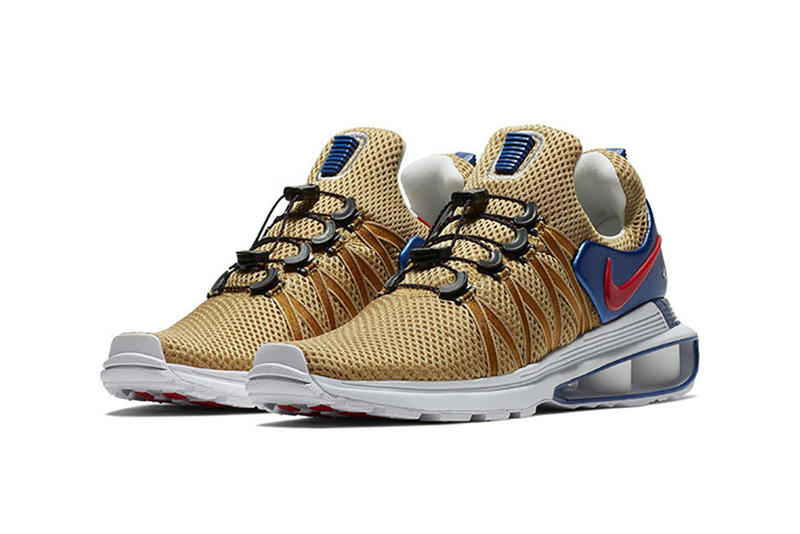 competitive price dd99f 48142 Nike Shox Gravity USA Closer Look Shoes Kicks Trainers Sneakers Gold Blue  Red Silver Stars five