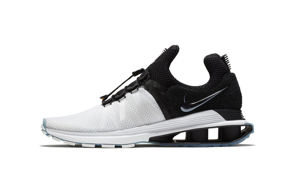 new products bd44b 5c0bf Nike Shox Gravity to Release in White Black