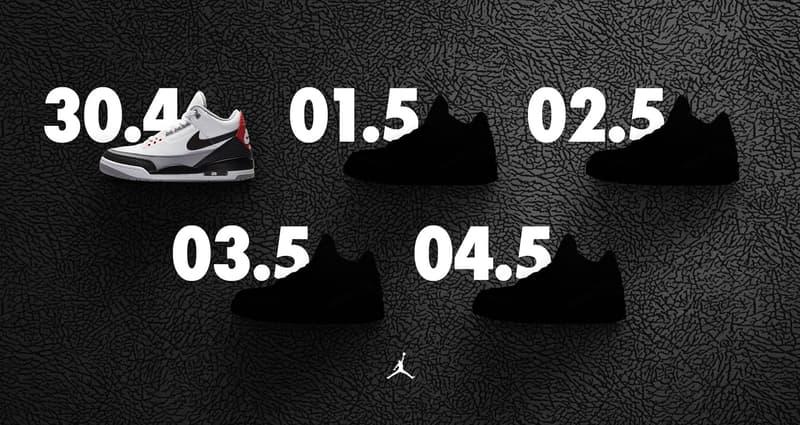 Nike SNKRS Air Jordan 3 week tinker hatfield birthday april 30 may 1 2 3 4 release date info drop sneakers shoes footwear
