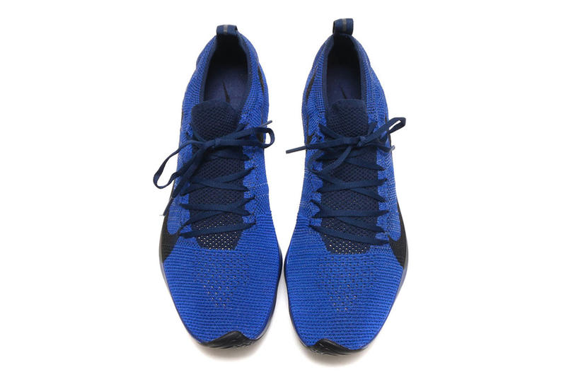Nike Vapor Street Flyknit Deep Royal College Navy Black footwear sneakers