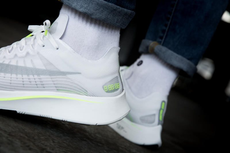 a3977027e93e nike Zoom Fly SP volt closer look footwear 2018 overkill nike running