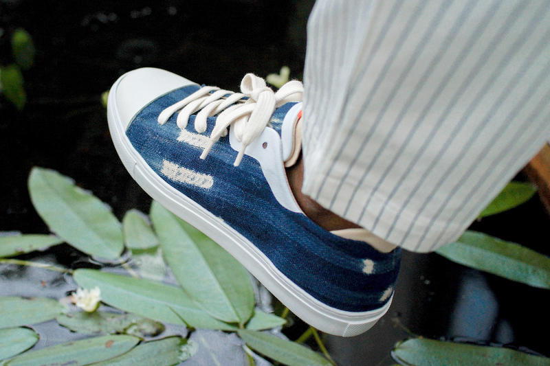 No.One Charlie Indigo Mud Cloth Edition sneakers footwear release info
