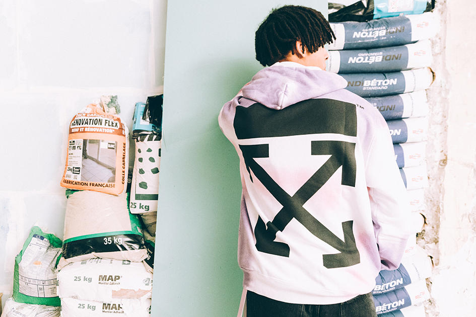 Off-White™ Tokyo IN ORDER Customization Pop-up aoyama japan t-shirt hoodie coat pants distressed print number alphabet letter exclusive limited april 27 may 6 2018 drop release virgil abloh exclusive