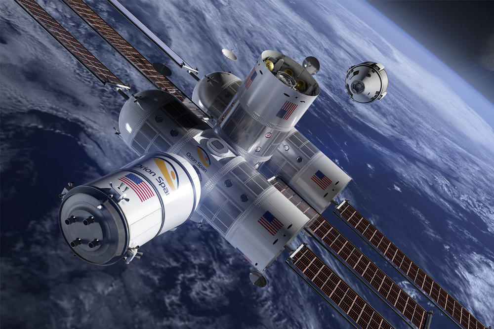 Orion Span Aurora Station Luxury Space Hotel 2022 open debut 9 5 million dollars usd trips outer 2021