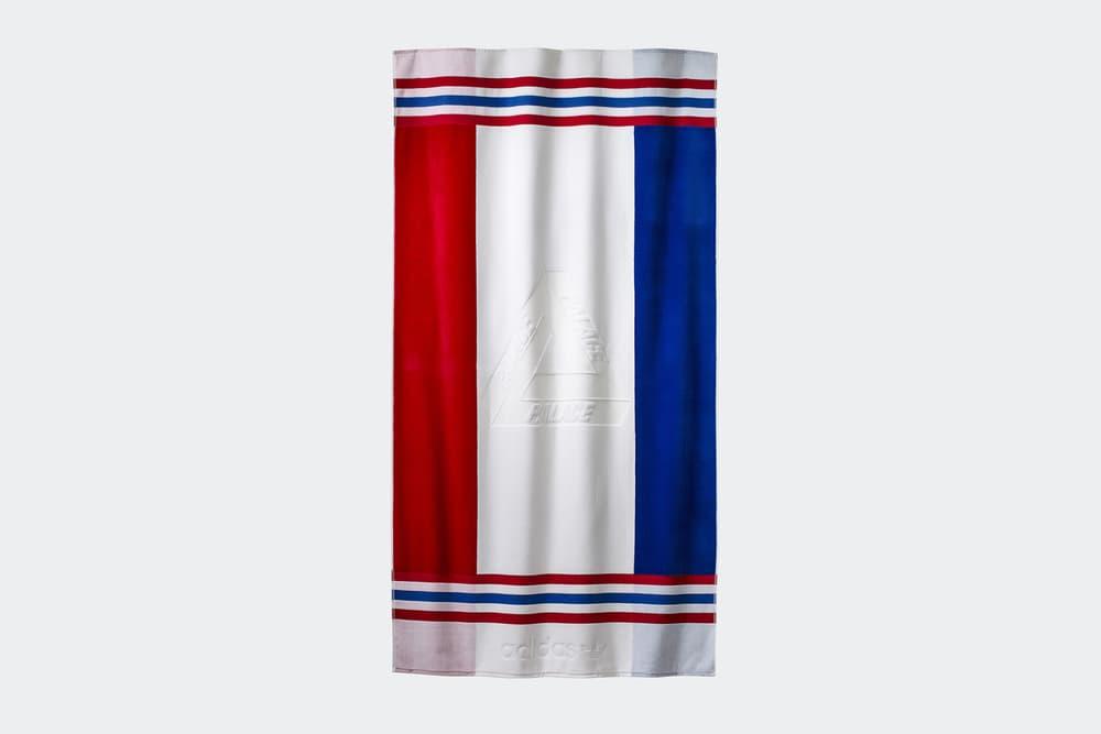 Palace adidas Originals summer 2018 range slides towels red black orange jackets
