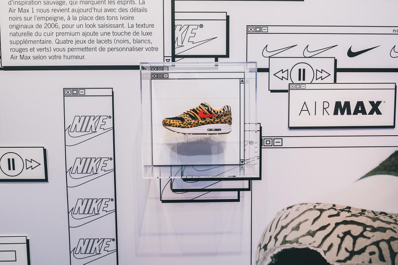 "Nike ""Paris On Air"" Event Redesign Nike Air Max Gallery Caroline Fullerton Courtney Daily Marie Odinot"