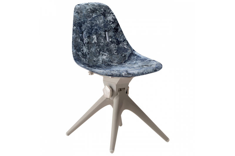 Pentatonic new clothes fashion waste upcycle chairs hangars pillows recycle bottles AirTool