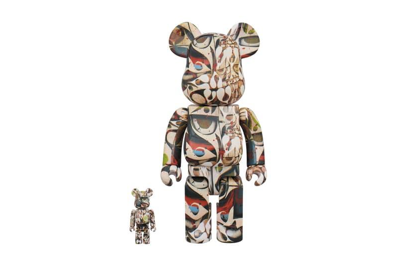 Phil Frost Medicom Toy BEARBRICKs 100 400 1000 percent april 24 2018 release date info drop