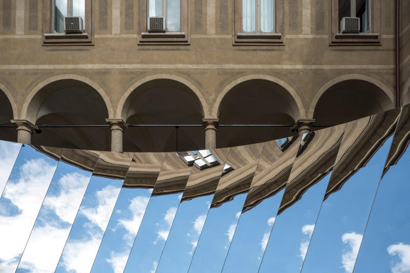 Phillip K Smith III cos open sky installation milan design week architecture design installation art artwork
