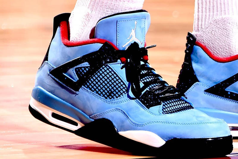 P.J. Tucker Travis Scott Air Jordan 4 Houston Rockets Jordan Brand Collaboration NBA Playoffs 2018