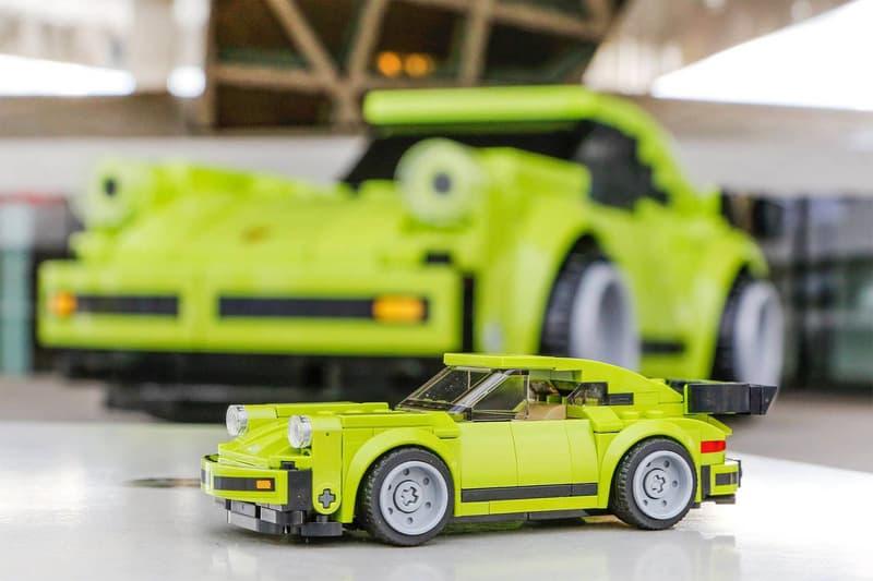 Porsche Full Size LEGO 911 Turbo