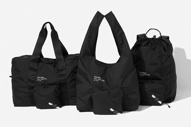 Saturdays NYC Porter Yoshida Official Look Capsule Collection Release Info Drops Date bags black accessories Commuter Pack Subway Series