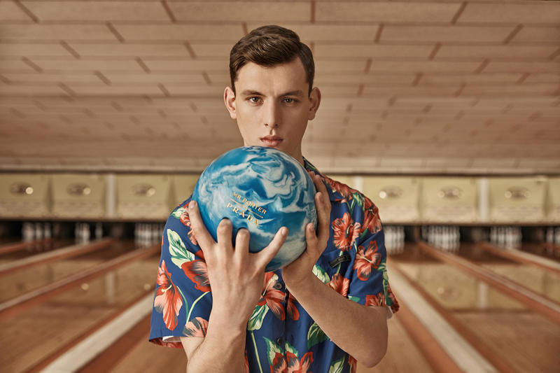 Prada MR PORTER Bowling Capsule Collection Spring/Summer 2018 Release Information Teaser Video Announcement apparel ready to wear sneakers trainers shoes footwear