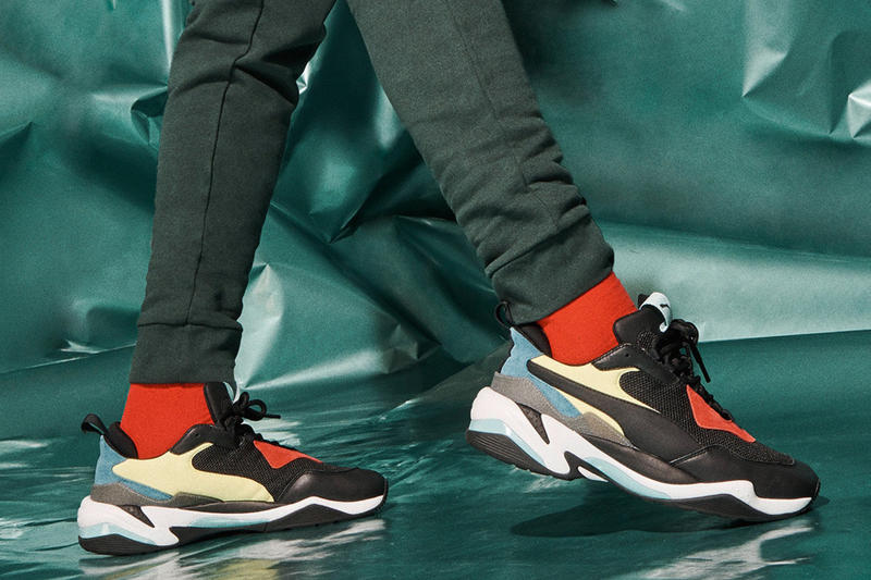 PUMA Thunder Spectra Official Release photos dad show McQ by Alexander McQueen Balenciaga Triple S