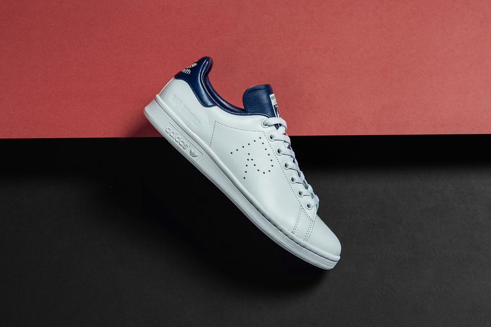 Raf Simons adidas Originals Spring Summer 2018 Stan Smith SS18 release date info drop sneakers shoes footwear red white blue