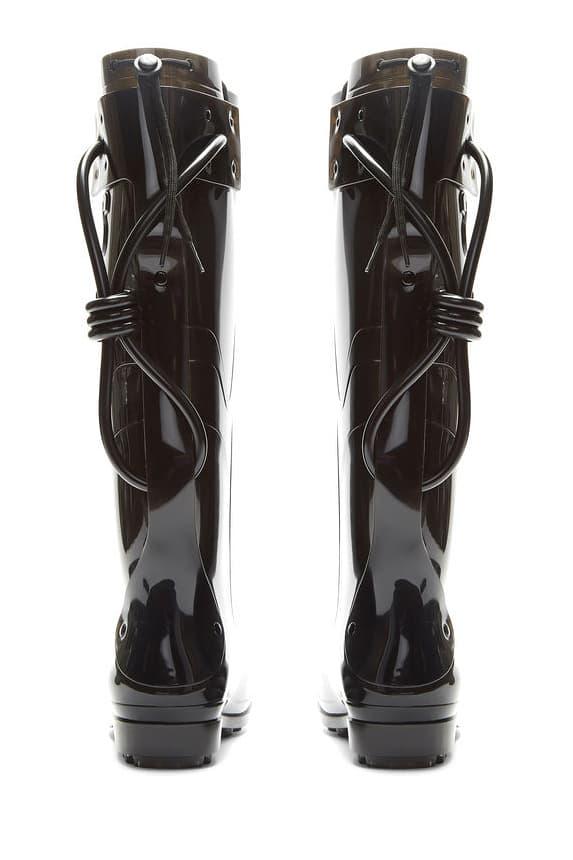Raf Simons Future Wellington Boots Spring Summer 2018 Order blade runner