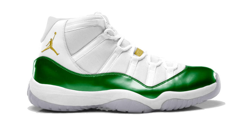 c2c5c0534b5caa Ray Allen Air Jordan Player Exclusive sneaker Two Rings Air Jordan 11  Celtics Jordan 4 Jordan