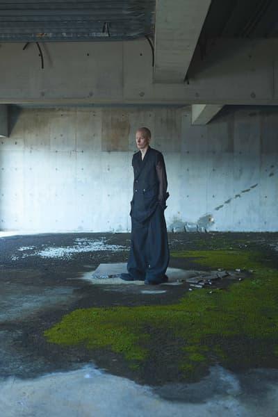 Rick Owens Spring Summer 2018 editorial GRIND Magazine japan collection eastland