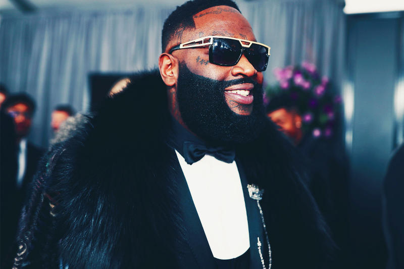 Rick Ross RICH Grooming Products Launch men beard oil shampoo conditioner body wash styling gel shaving cream aftershave balm classic pomade styling wax hair facial may july 2018 sally beauty supply limited