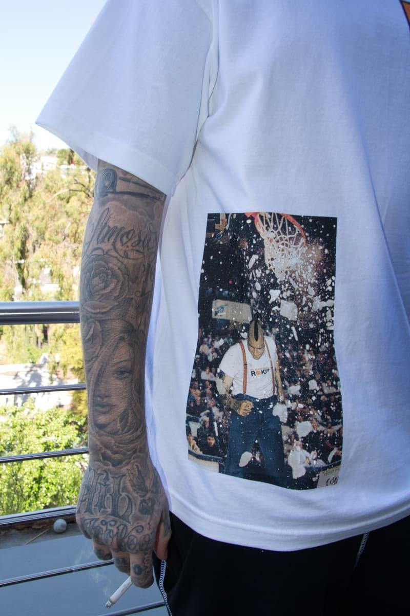 ROKIT By PLEASURES Hoodie T-Shirt Longsleeve lookbook