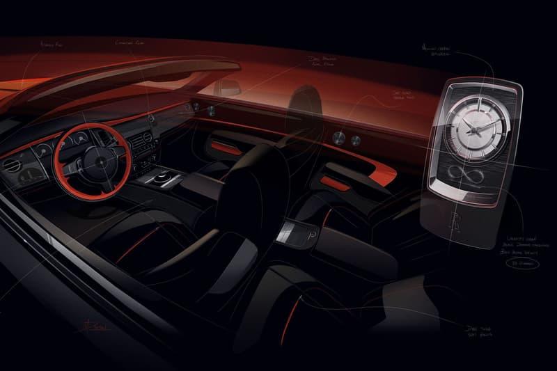 Rolls Royce Adamas Collection wraith coupe dawn