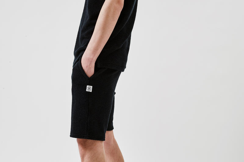 Reigning Champ Ron herman japan spring summer 2018 collaboration collection pile hoodie t shirt tank top shorts black drop release