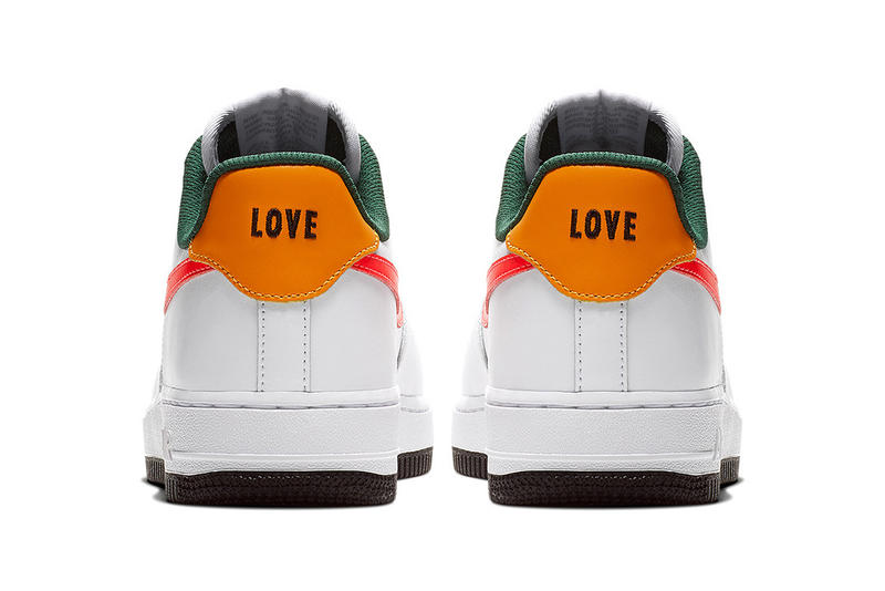 Ruba Abu Nimah Nike Air Force 1 Low Love April 9 2018 release date info drop sneakers shoes footwear