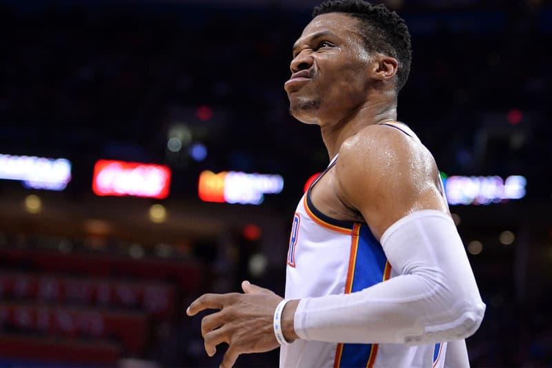 Russell Westbrook NBA History triple double average 2016 2017 2018 sports basketball jordan brand oklahoma city thunder memphis grizzlies utah jazz