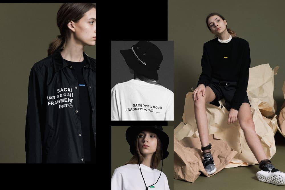 Sacai Fragment Design Exclusive Capsule Coach Jackets Caps Patch Shirts Classic Logo Sweatshirts T-Shirts Jeans Shorts HBX Chitose Abe Hiroshi Fujiwara