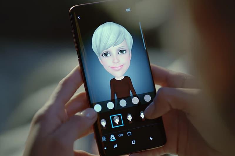Samsung Patent Video Chat 3D AR Emoji avatar