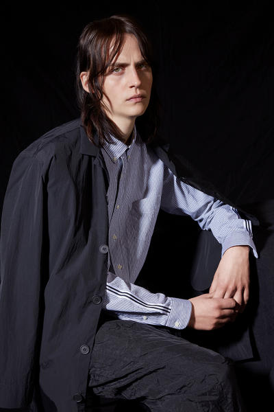 Schnayderman's Fall/Winter 2018 Lookbook Collection Ian Curtis Joy Division The Cure Robert Smith New Wave Inspired Fashion Shirts Overshirts Jackets Stockholm