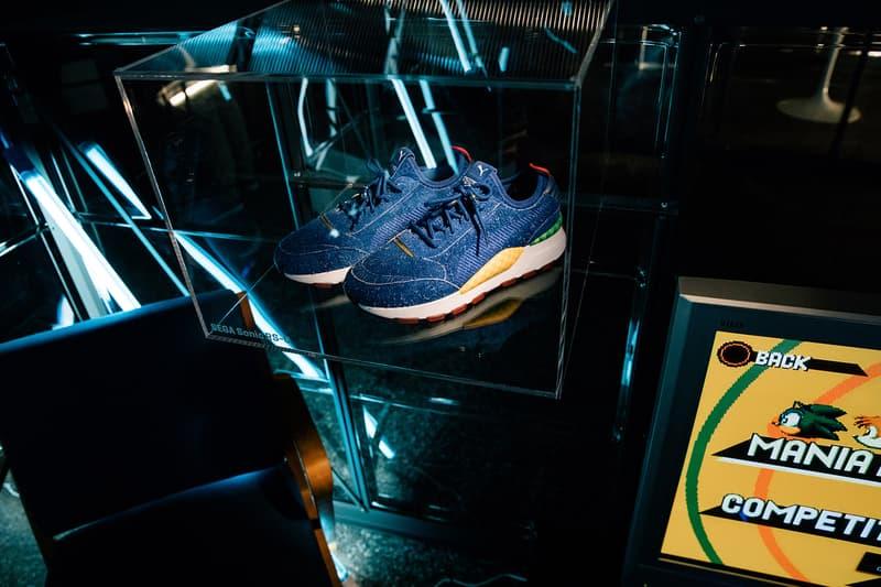 SEGA PUMA RS-0 Sonic the Hedgehog Sneaker first look sneakers footwear