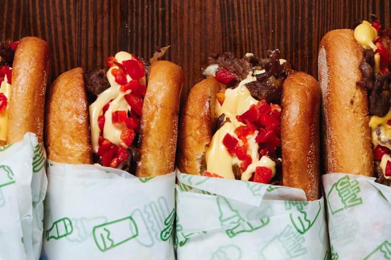 Shake Shack Pat LaFrieda Cheesesteaks april 3 one day beef sandwich