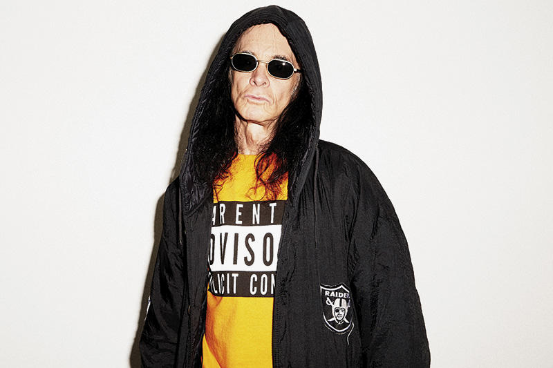 Skim Milk Spring Summer 2018 Culture Is Dead Lookbook collection Don Bolles The Germs Ariel Pink