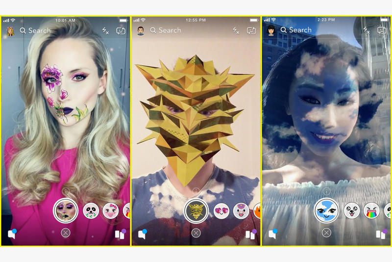 Snapchat Face FIlters Build Your Own Lens Studio custom personalized giphy integration