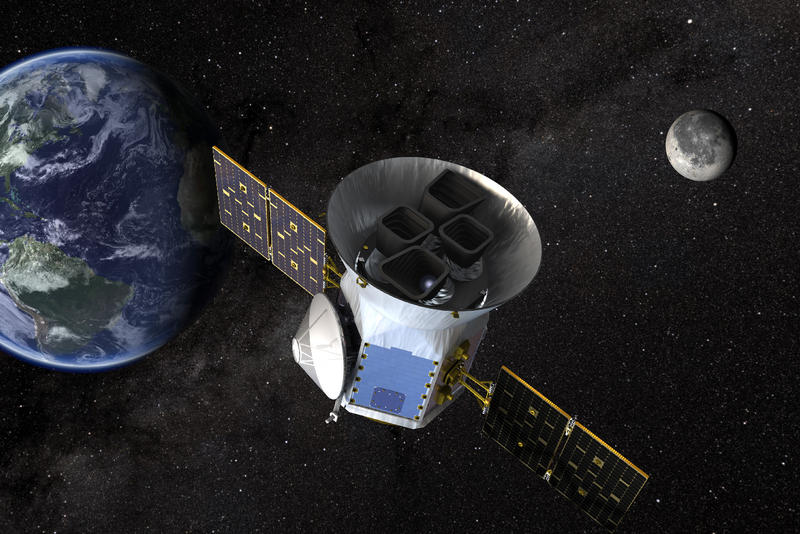 spacex nasa tess telescope space elon musk transiting exoplanet survey satellite astronomy