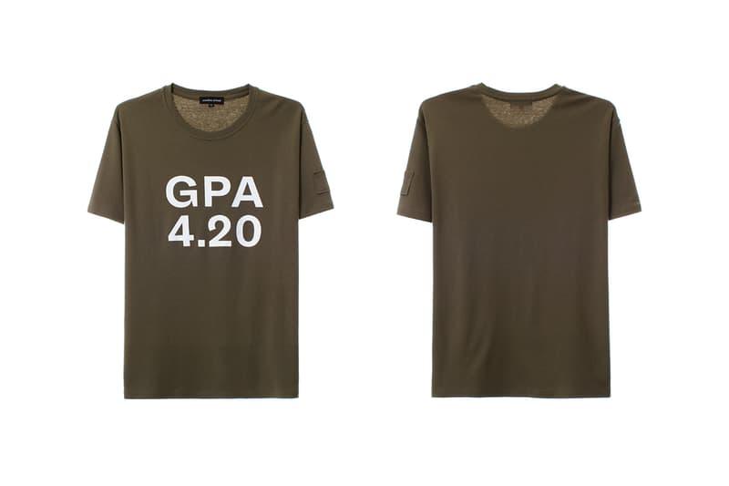 Sundae School GPA 4.20 Collection Pop-Up 4/20 april 20 release info