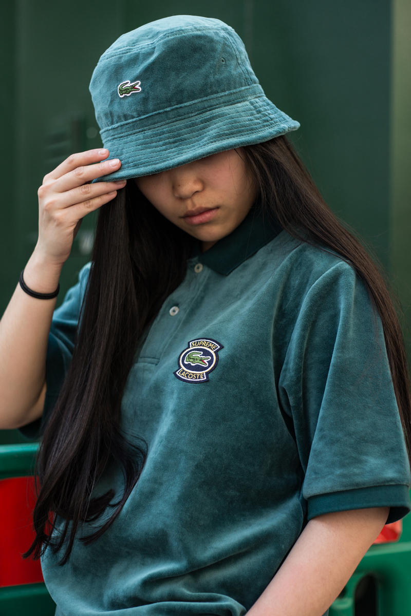 Supreme Lacoste Spring Summer 2018 Street Style Street Snaps Soho London  New York Stores Retail 67ce24443c9