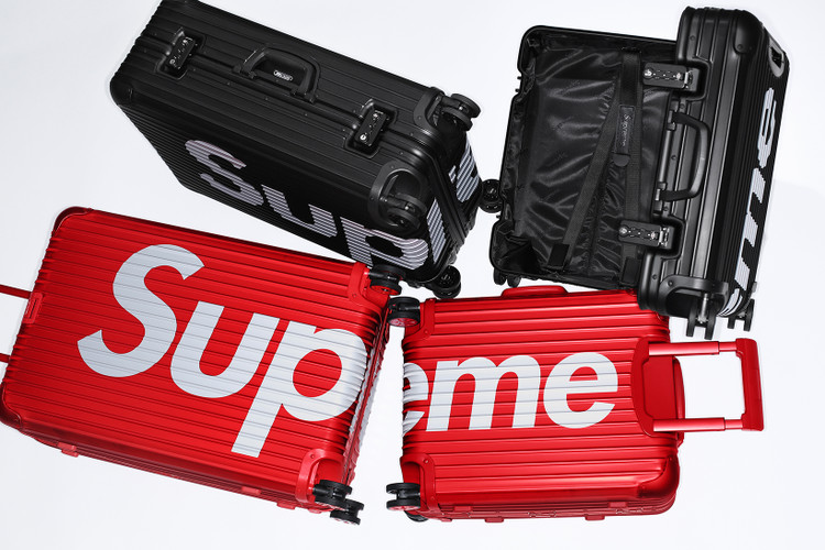 689a98ca6 Supreme Teases Collaboration With Luggage Brand Giant RIMOWA