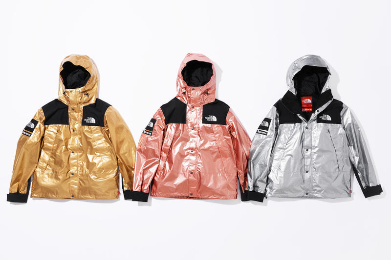 bb223fc4c Supreme x The North Face Metallic Spring 2018 | HYPEBEAST
