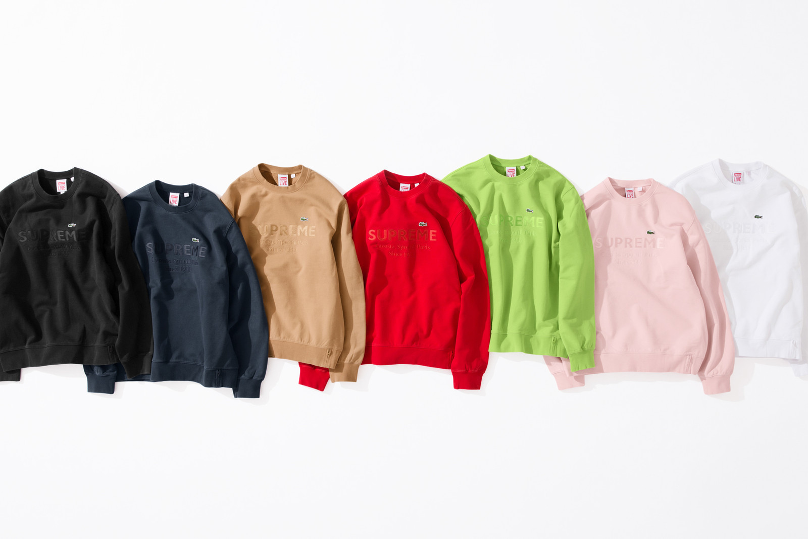 Supreme Spring/Summer 2018 Drop 8 Release Info cherry los angeles a-cold-wall nonnative nike slam jam assc anti social social club bape a bathing ape acronym alexander wang supreme lacoste