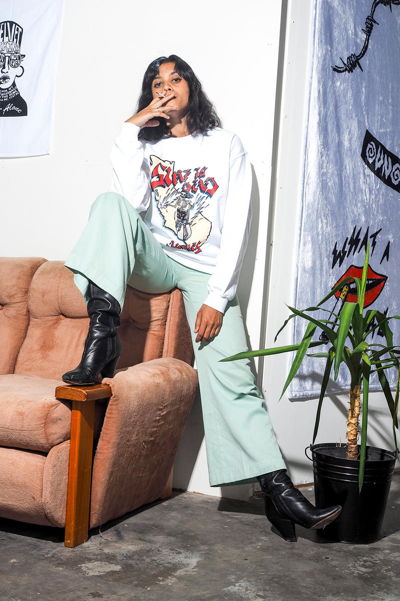 Surf is Dead x Jungles Capsule Collection T-shirts Fashion Los Angeles Surf