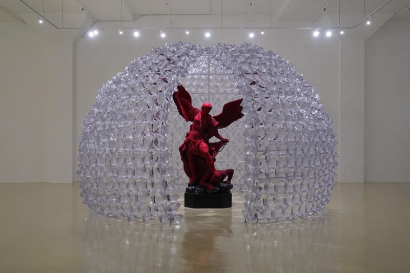suzann victor see like a heretic exhibition yogya art lab indonesia art artwork sculpture installation