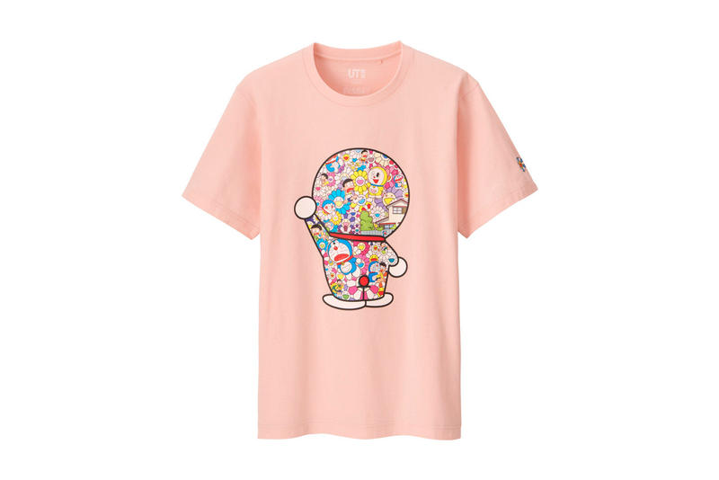 Takashi Murakami Doraemon Uniqlo UT Collection collaboration april 26 2018 release date info drop may global Fujiko Fujio