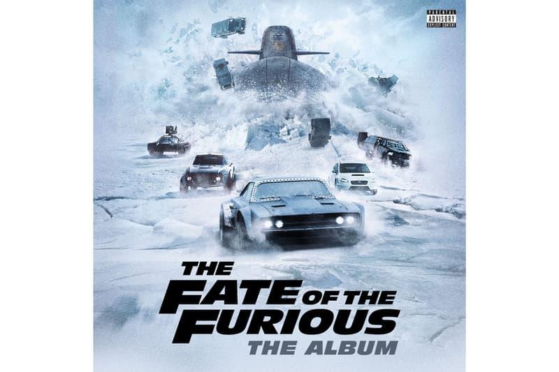 'The Fate of the Furious: The Album' Travis Scott Migos Movie Films Music Tracklisting