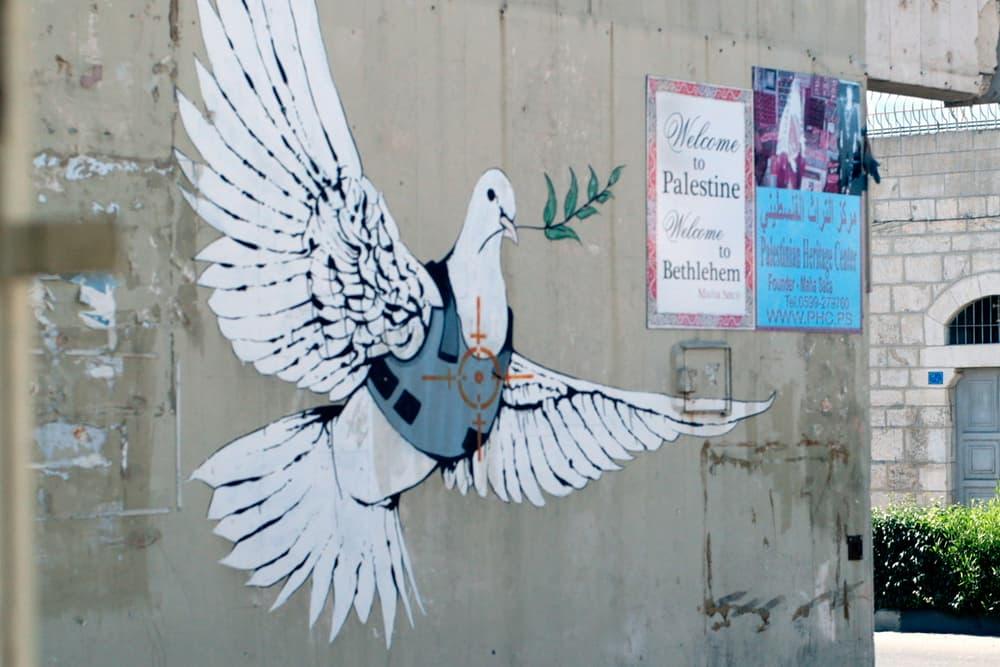 the man who stole banksy marco proserpio tribeca film festival israel palestine walled off hotel walid the beast art documentary artwork street art graffiti