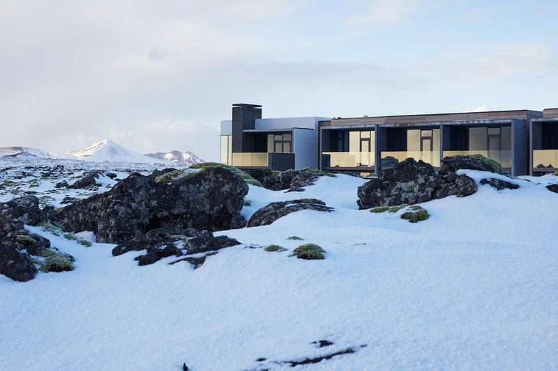 The Retreat Blue Lagoon Iceland Hotel lava flow luxury spa suite reykjavik