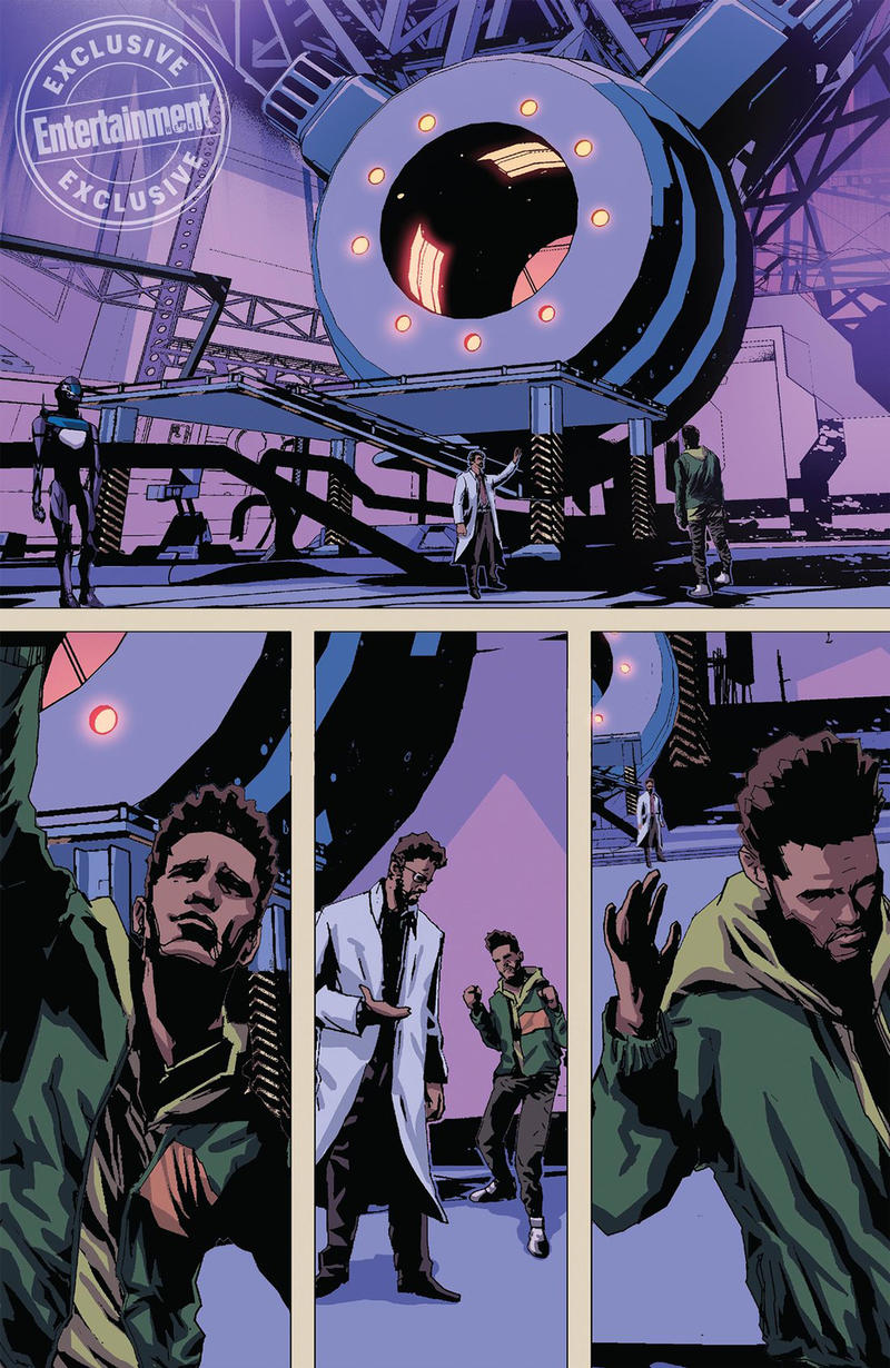 The Weeknd Starboy Marvel Comic inside preview june 13 release april 19 2018 debut launch exclusive abel tesfaye